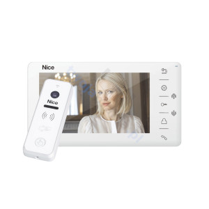 NICE W LOOK PLUS W - zestaw wideodomofonowy