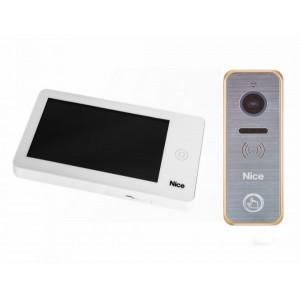 NICE PRO WG - zestaw wideodomofonowy z dotykowym ekranem