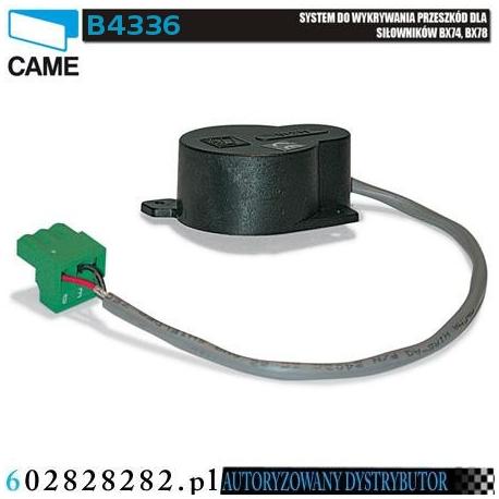 CAME B4336 system wykrywania przeszkód do siłowników BX74 i BX78