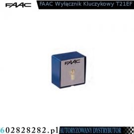 FAAC Wyłącznik kluczykowy T21EF