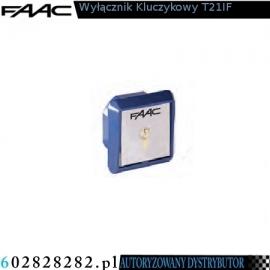 FAAC Wyłącznik kluczykowy T21IF