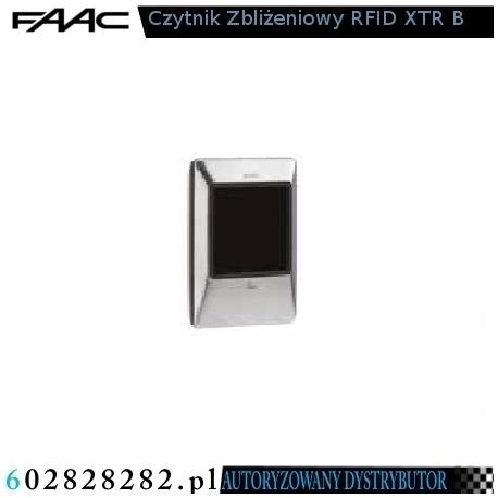 FAAC Czytnik zbliżeniowy RFID XTR B INOX
