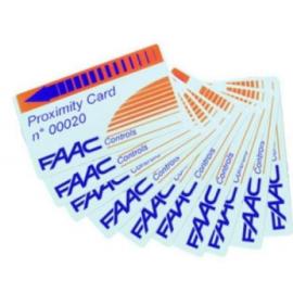 FAAC Karta zbliżeniowa zakodowana kodem i numerowa