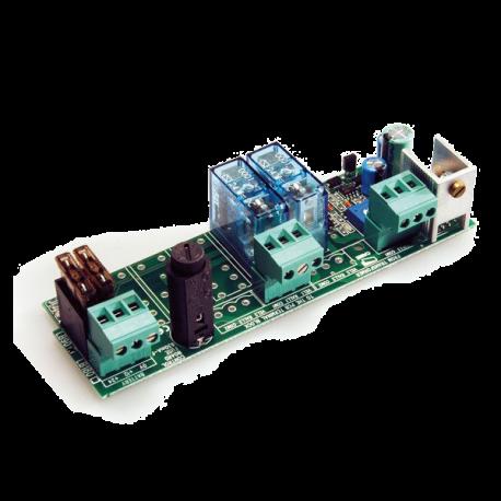 CAME LB90 karta umożliwiająca zasilanie systemu akumulatorami 12V 1,2Ah x 2