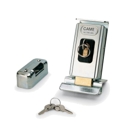CAME LOCK82 uniwersalny poziomy lub pionowy, dwucylindrowy zamek elektromagnetyczny