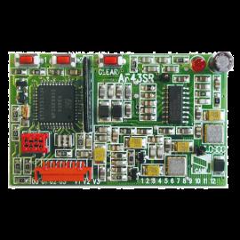 CAME AF86SR Karta częstotliwości