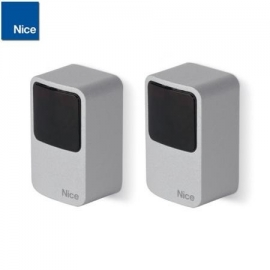 NICE EPMA fotokomórki medium nadajnik + odbiornik, kąt widzenia 10st., zasięg 30m, aluminiowa obudowa