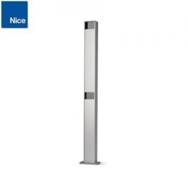 NICE PPH2 kolumna aluminiowa do 2 fotokomórek serii EPM / EPL wys. 100cm, srebrna