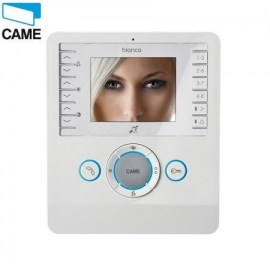 CAME CS2BNCO BIANCA bezsłuchawkowy odbiornik video